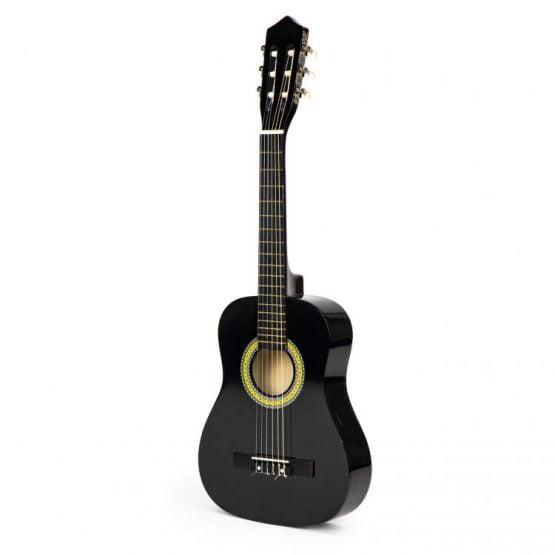 Gitara dla dzieci duża drewniana 6 strun